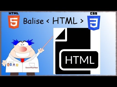 HTML5 / CSS3 - 02 - Balise HTML