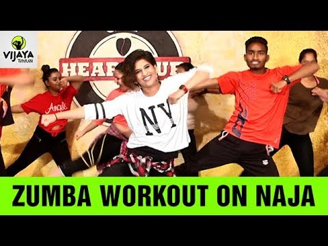 Zumba Workout On NaJa Song | Pav Dharia | Zumba Dance | Choreographed By Vijaya Tupurani