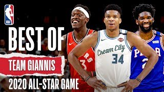 Best Of Team Giannis | 2020 NBA All-Star Game
