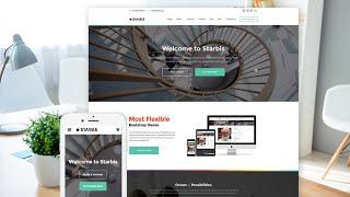 Erstellen Sie eine Komplett Responsive Website mit Bootstrap 4 in Hindi 2019