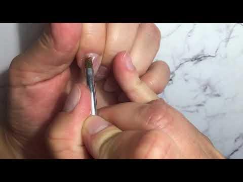 Как нарастить ногти гелем видео уроки для новичков на типсы