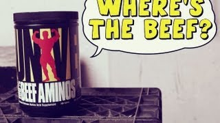Beef Aminos (Universal) Review