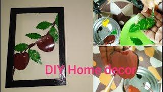 Beautiful DIY wall hanging without any cost || ঘরের সৌন্দর্য বর্ধনে সুন্দর একটি কারুকাজ