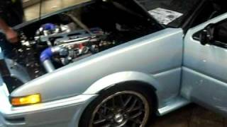 2jz swap ae86 with new rebuild engine with 272 hks cams