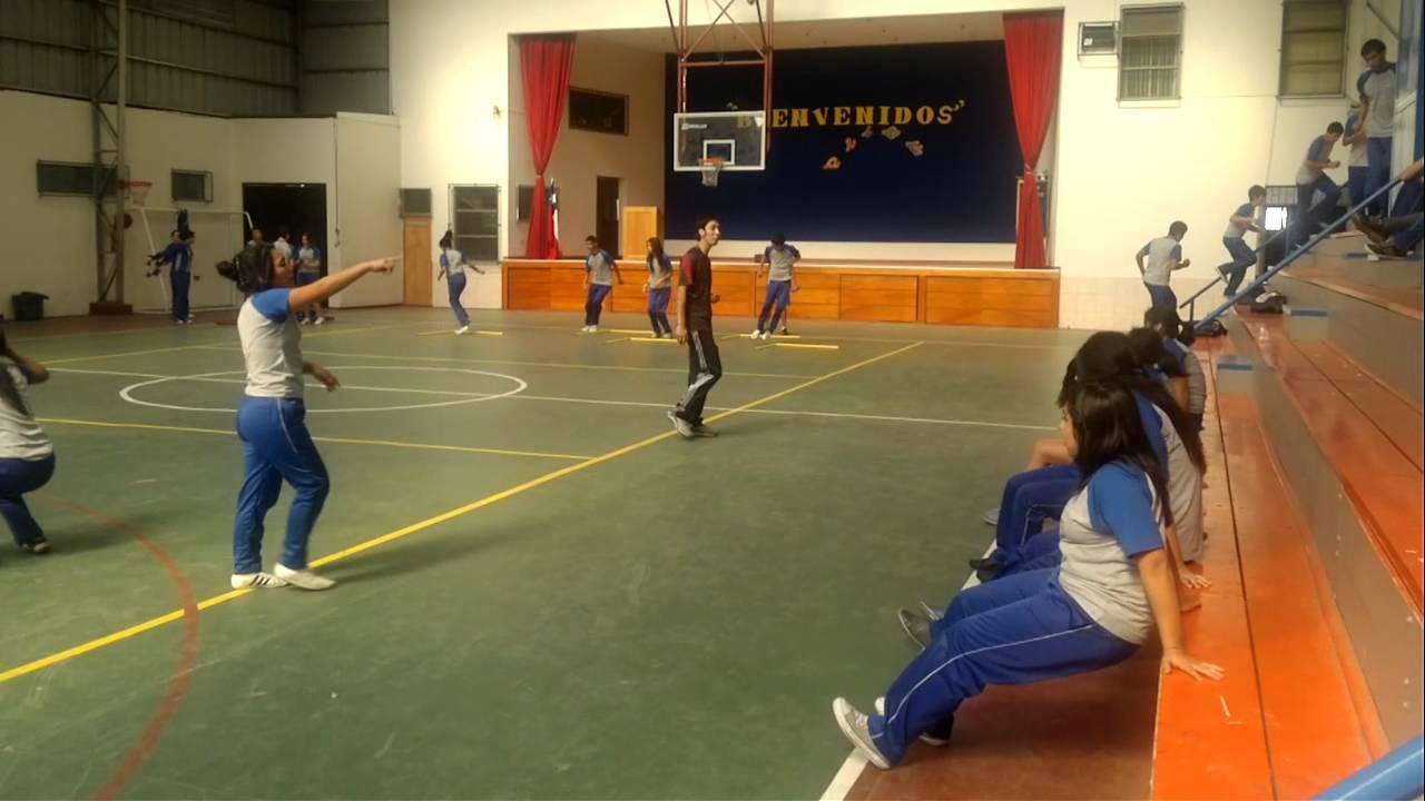 Circuito Motriz : Circuito por estaciones clase educacion fisica parte