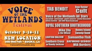 2015 Voice of the Wetlands Festival   Houma, LA AA