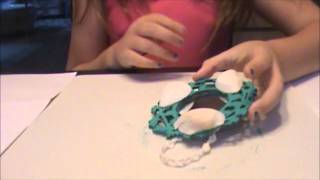 Decorate A Mirror For American Girl Doll House