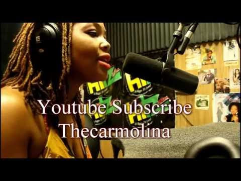 Kingston Jamaica:|| Singer Carmolina Talks, Love, Music Industry 4 Women, & Life  Live on Hitz FM