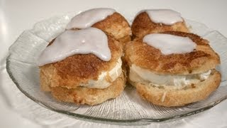 Danish Pastry Cream Puffs - Carnival Buns