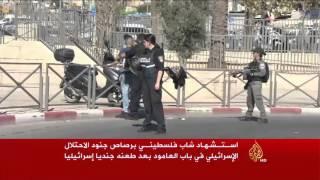 كاميرا الجزيرة توثق قتل الاحتلال شابا فلسطينيا