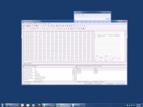 CIT2553 How to extract word document using hex editor