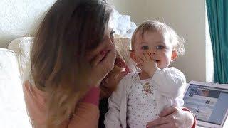 VLOG: Louise's Birthday, Baby Glitter & Video Reaction