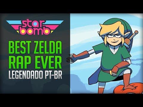 BEST Zelda Rap EVER!! (Starbomb) - Legendado PT-BR