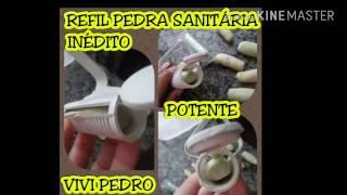 REFIL PEDRA SANITÁRIA INÉDITO