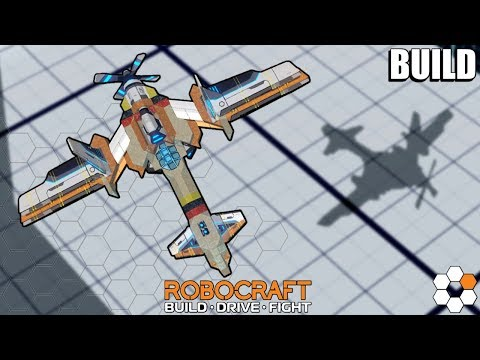 Sky Hawk - Robocraft Robot Build