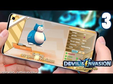 New Pokemon Legendary Snorlax! Champion Summoner - Android IOS Gameplay Part 3