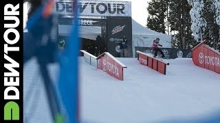 Silje Norendal's Run from Snowboard Slopestyle Final, Dew Tour iON Mountain Championships 2013