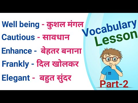 Learn English Vocabulary Words With Meaning • English Words With Meaning • Let Me Flow