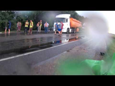 Жуткая авария с туристами у Тимашевска