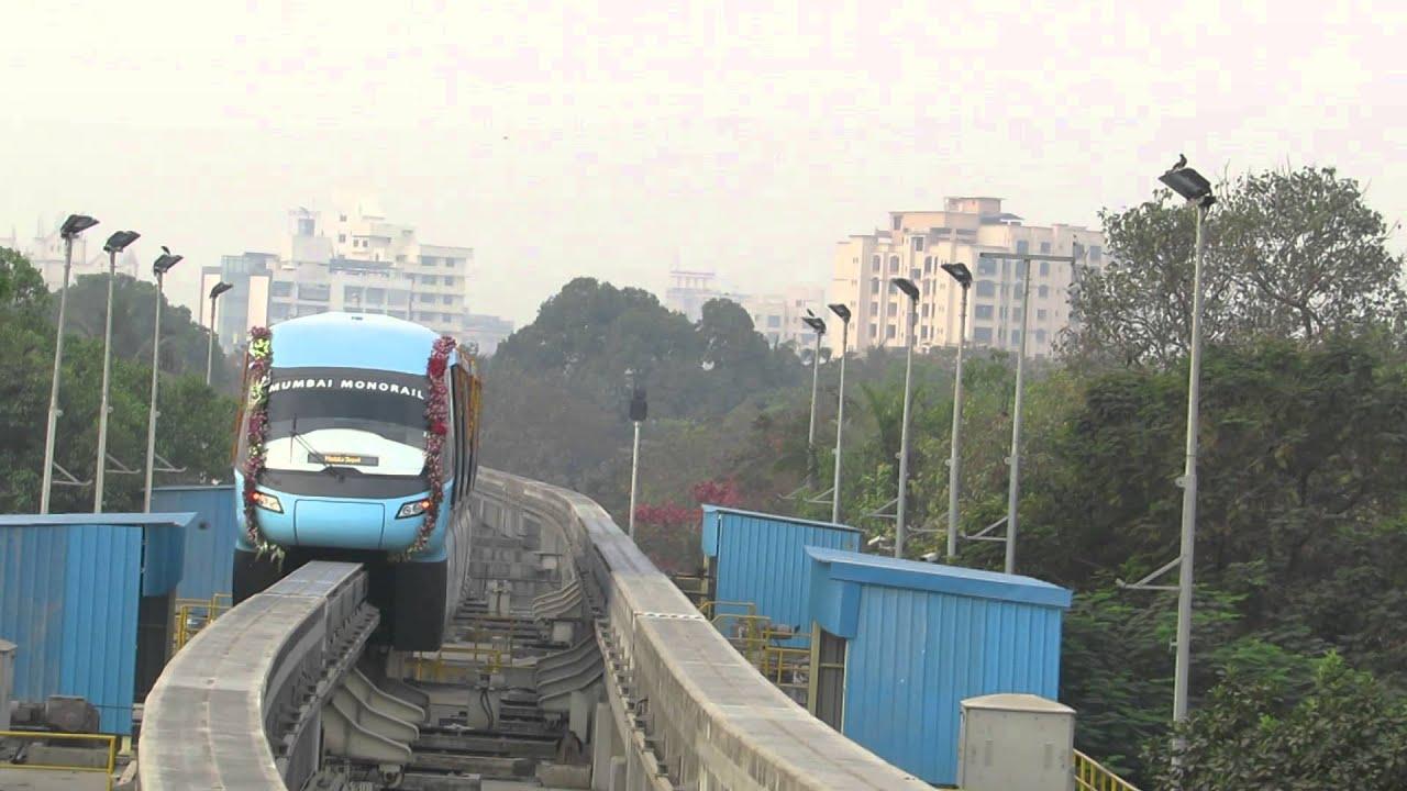 Mumbai Monorail Automatic Track Changing Mechanism - Youtube-3372