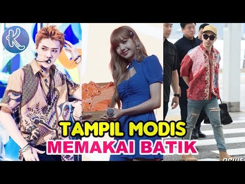Bikin Bangga Indonesia! 10 Idol Kpop Ini Tampil Menawan Saat Kenakan Batik