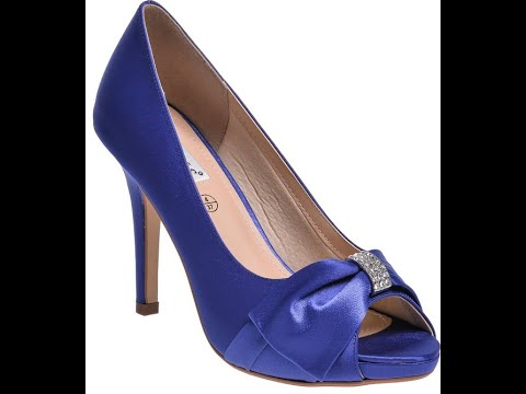 Cobalt Blue Shoes