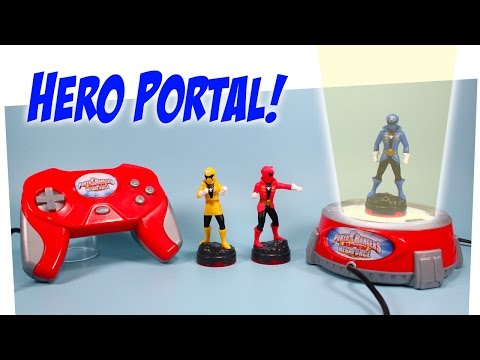 Power Rangers Super Megaforce Hero Portal Gaming System