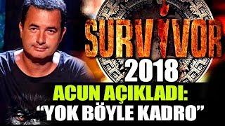 Survivor 2018 All Star Yarışmacıları Belli Oldu! Acun Ilıcalı Açıkladı!