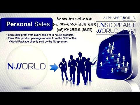 NWORLD ALPHANETWORLD PRESENTATION 0915-4879564 Globe / 0909-3854363 Smart