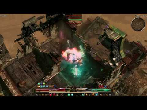 Grim Dawn AoM [1 0 6 1] - Defiler vs Nemesis (Ultimate) - Смотреть