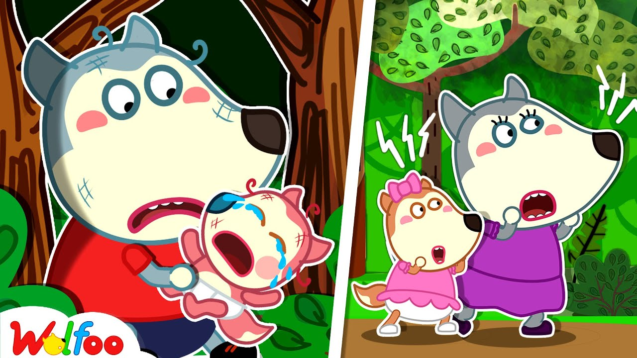 Download Oh No! Wolfoo and Baby Got Lost in the Forest | Safety Tips for Kids | Wolfoo Family Kids Cartoon