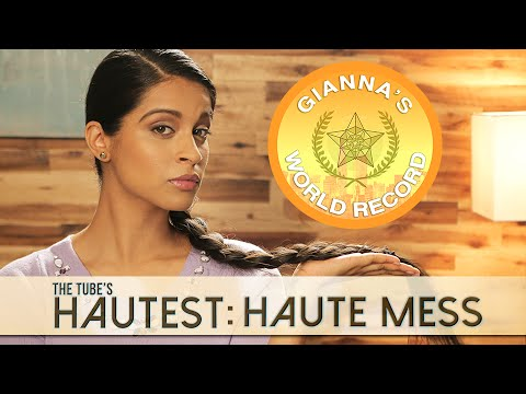 Haute Mess: Gianna Breaks a World Record | The Tube's Hautest // I love makeup.