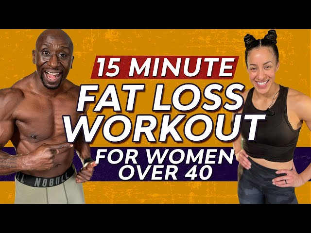 15  Minute Fat Loss Home Workout For Women Over 40 (Bodyweight Only)