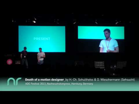 Death of a motion designer -- ADC Festival 2013