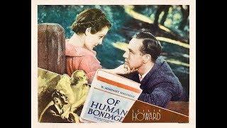 Драма  Бремя страстей человеческих (1934)  Leslie Howard Bette Davis Frances Dee