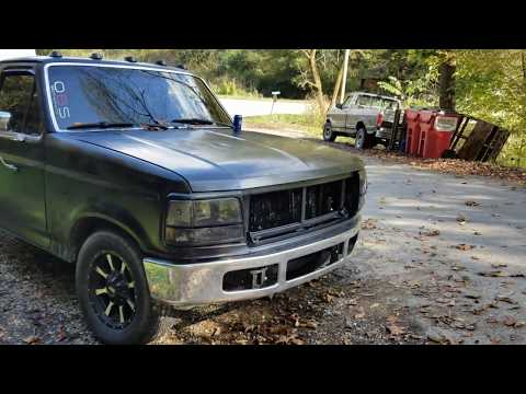 2008-2010 Super Duty Front Bumper Swap Onto 1992-96 F-Series Overview