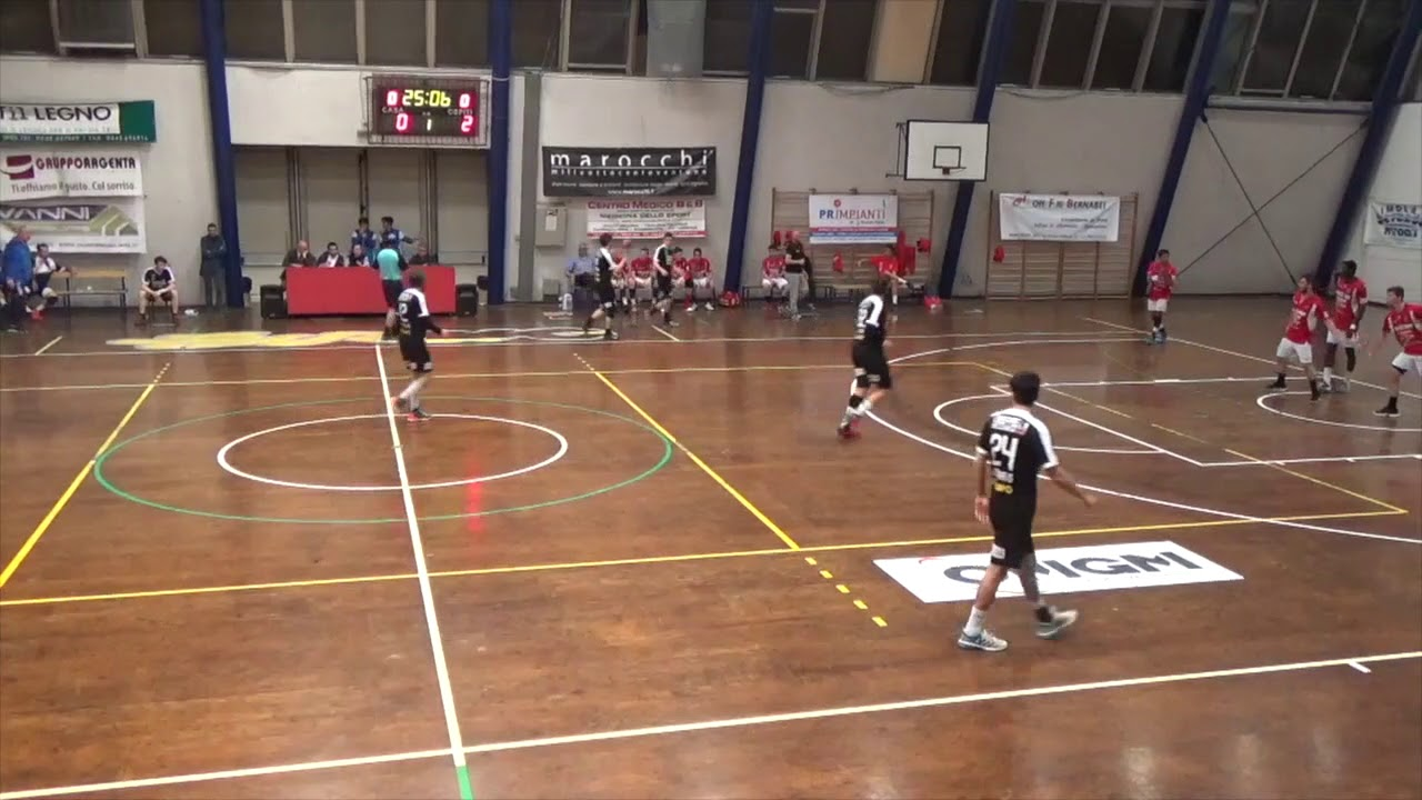 Serie A1M [Play-Out T1A]: Romagna - Carburex Gaeta 25-28