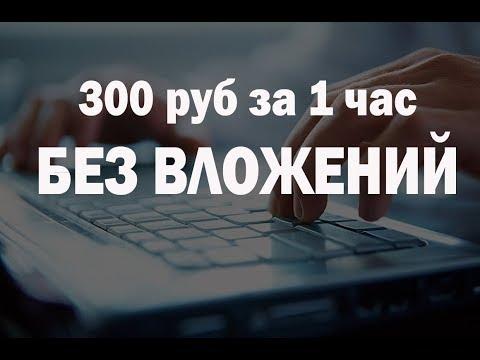300 рублей в час