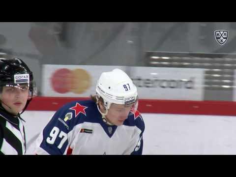 Kaprizov Uses Smart Ricochet To Score