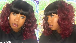 💋New! GLAM-H LULU|  Zury Hollywood| Sis Sister Wig| Som RT Cherry
