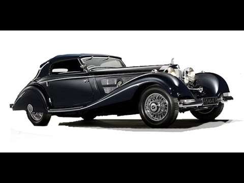 1937 Mercedes Benz Roadster