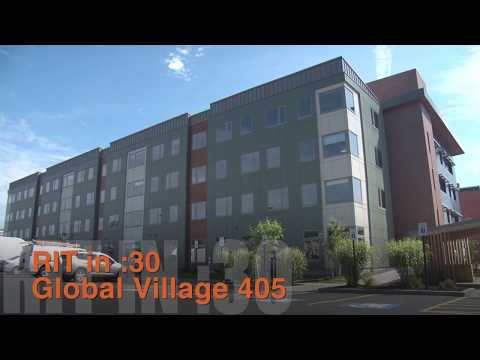 RIT in :30 - New Residence Hall Opens at Global Village