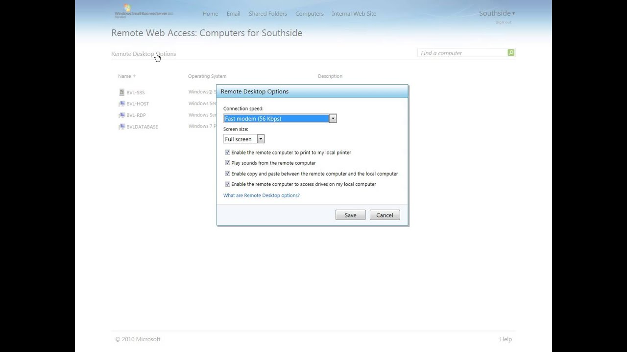 How to remove redirected printers in windows server 2012 — pic 1