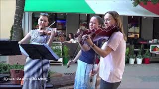 ПОЛОНЕЗ ОГИНСКОГО! На скрипках, от профессионалов! Street! Music!