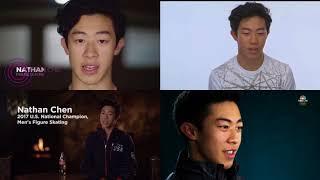 2018 平昌冬奧 美國隊兩大亞裔看版人物 (Chole Kim, Nathan Chen)
