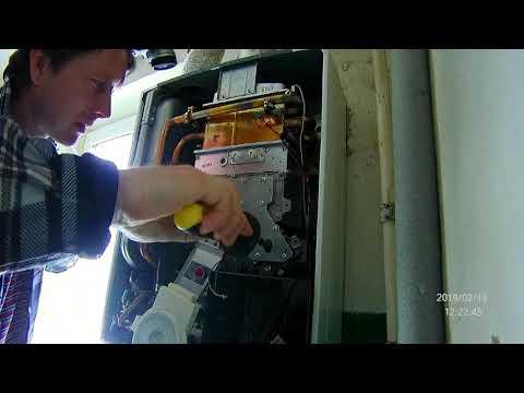 Ремонт газовых котлов риннай своими руками