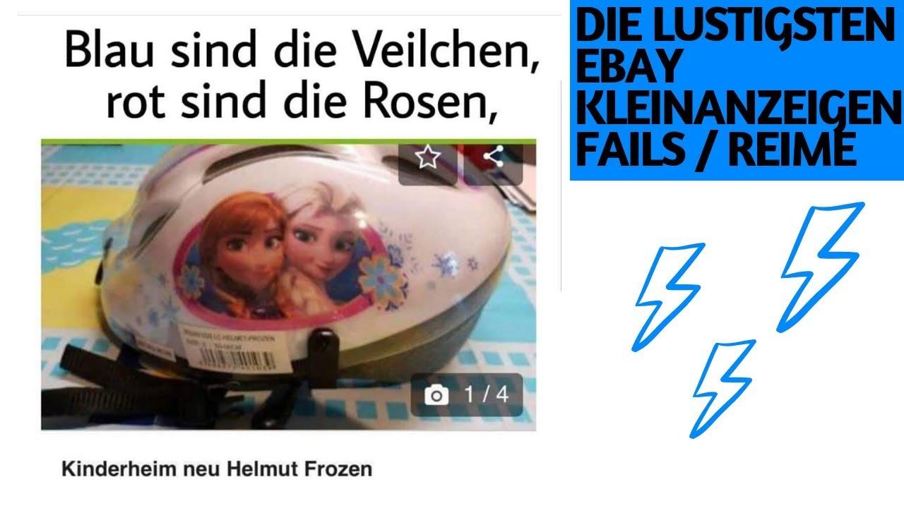 Die Lustigsten Ebay Kleinanzeigen Fails Reime 2 Youtube