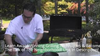 Become An Expert Griller | How To Grill Halibut Steak - Full Demo Must See!