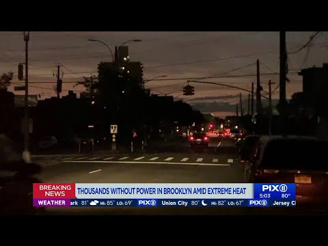 Thousands still without power in Brooklyn Monday morning