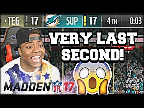 SUPERBOWL COMES DOWN TO THE WIRE! BUDGET SQUAD STRUGGLES! | Madden 17 Ultimate Team Gameplay